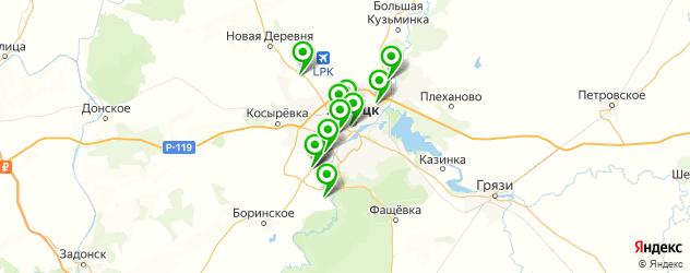 культурные центры на карте Липецка