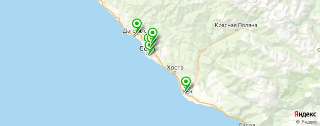 где пройти медкомиссию на карте Сочи