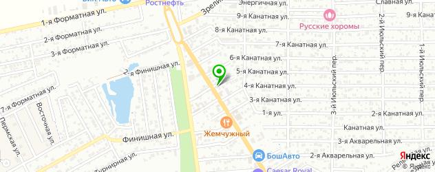 СПА отель на карте Ростова-на-Дону