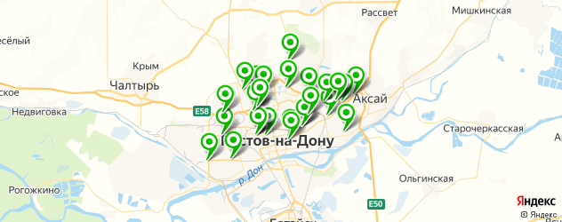 тюнинги-магазины на карте Ростова-на-Дону