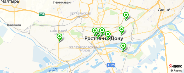 азербайджанская кухня на карте Ростова-на-Дону