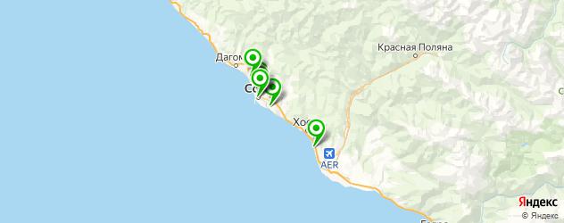 салициловый пилинг на карте Сочи