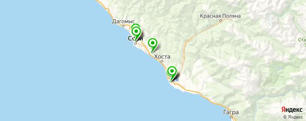 ультразвуковая кавитация на карте Сочи
