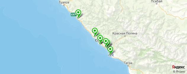 музеи на карте Сочи