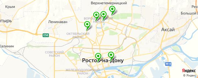 капкейки на карте Ростова-на-Дону