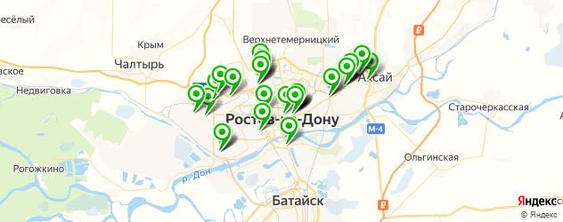 автосалоны на карте Ростова-на-Дону