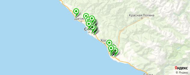 тюнинги ателье на карте Сочи