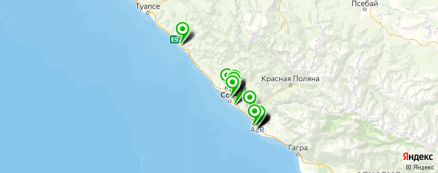 автозапчасти на карте Сочи