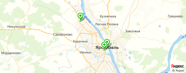 модельные агентства на карте Ярославля