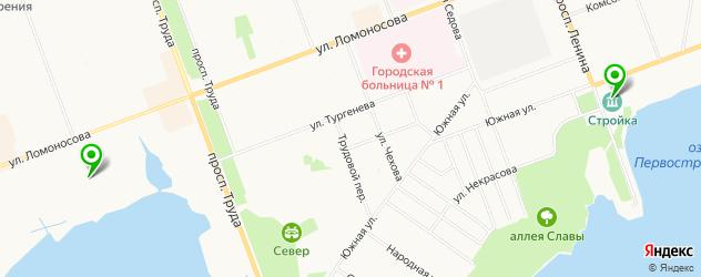 театры на карте Северодвинска