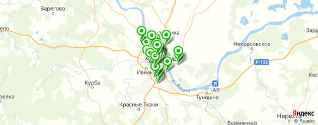 тюнинги ателье на карте Ярославля