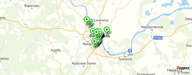 пирсинги салон на карте Ярославля