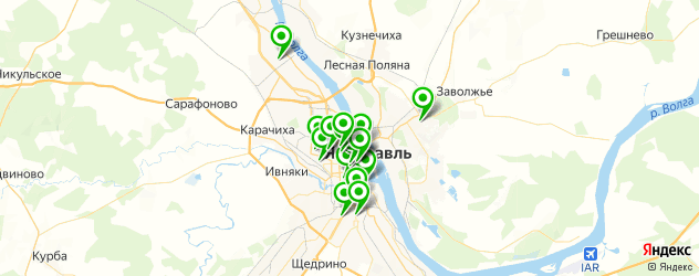 СПА салон на карте Ярославля