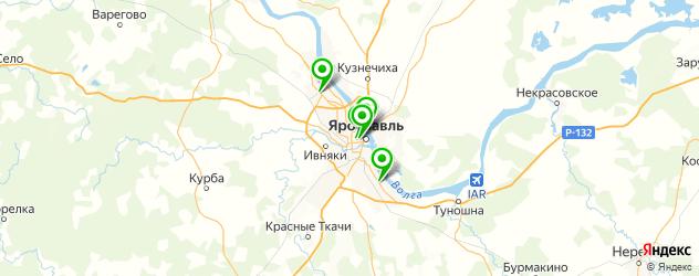 японские рестораны на карте Ярославля