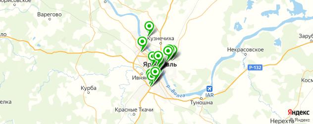 ювелирные мастерские на карте Ярославля