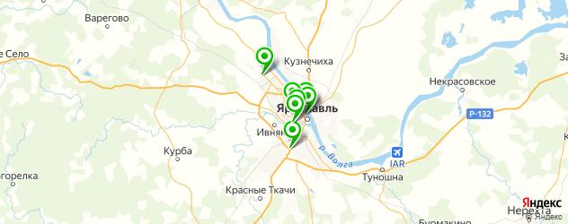квесты на карте Ярославля