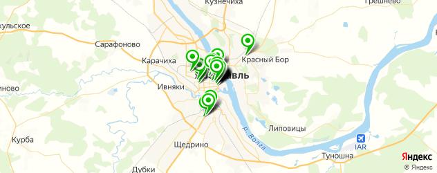 Финансы на карте Ярославля