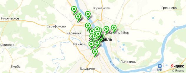академии на карте Ярославля