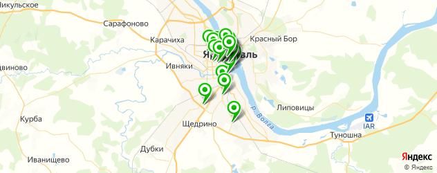 рестораны для дня рождения на карте Ярославля