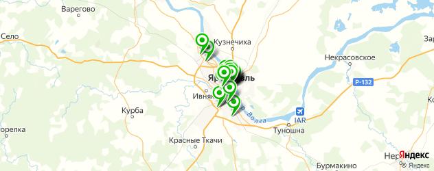 постные меню в ресторанах на карте Ярославля