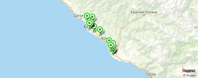 биоревитализация на карте Сочи