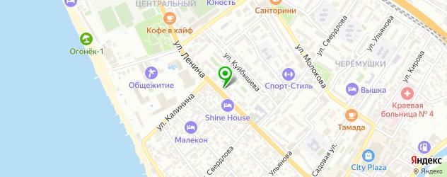 анализы на паразитов на карте улицы Свердловой