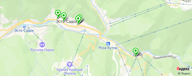 салоны красоты на карте Эстосадка