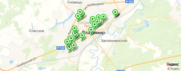 меховые ателье на карте Владимира
