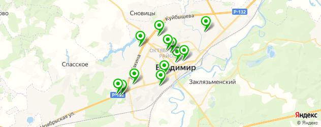 оклейка авто пленкой на карте Владимира