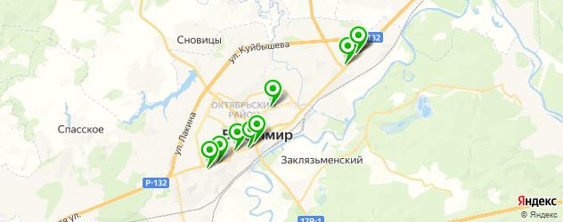пирсинги салон на карте Владимира