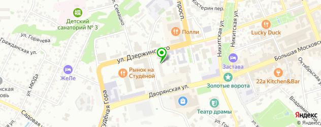 шахматные школы на карте Владимира