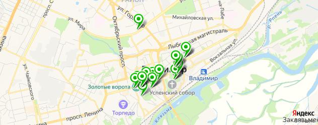 музеи на карте Владимира