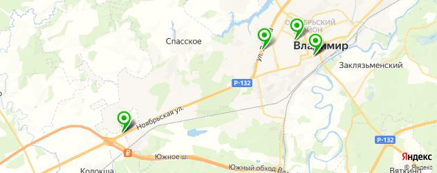 квесты на карте Владимира