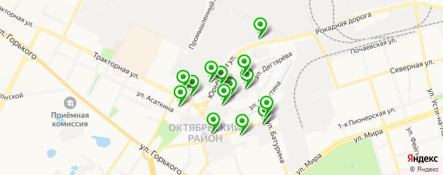 автосервисы на карте улицы Александра Матросова