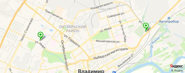 анализы на гормоны на карте Владимира