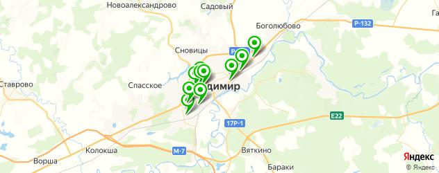 отоларингология на карте Владимира