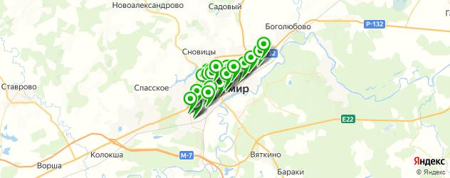 диагностические центры на карте Владимира