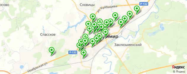 медицинские центры на карте Владимира