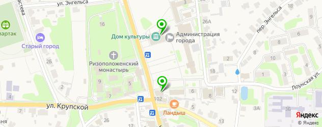 культурные центры на карте Суздаля