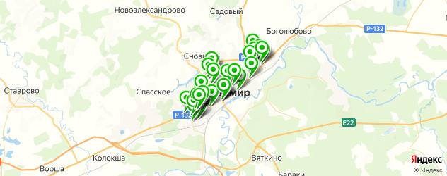 дома быта на карте Владимира