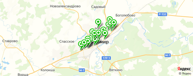 изготовления ключей на карте Владимира