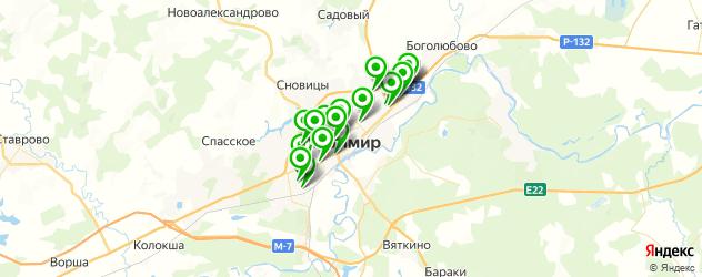 СПА салон на карте Владимира