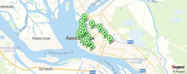 юбилей на карте Архангельска