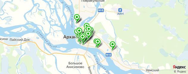 агентства праздников на карте Архангельска