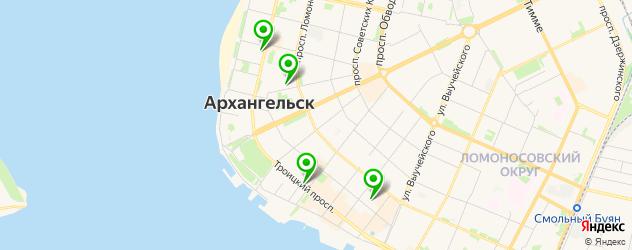 свадебные агентства на карте Архангельска