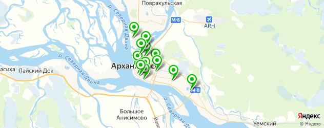 СПА салон на карте Архангельска