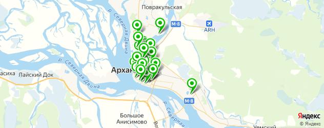 Здоровье на карте Архангельска
