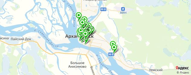 центры косметологии на карте Архангельска