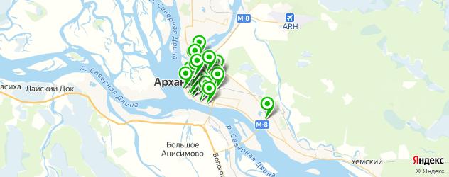 пирсинги салон на карте Архангельска