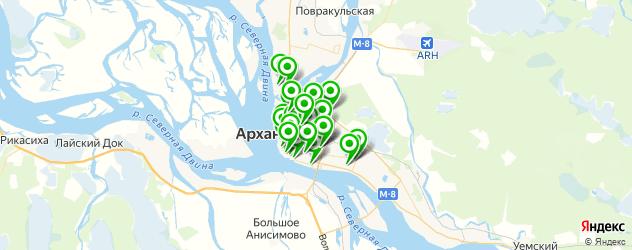 Красота на карте Архангельска
